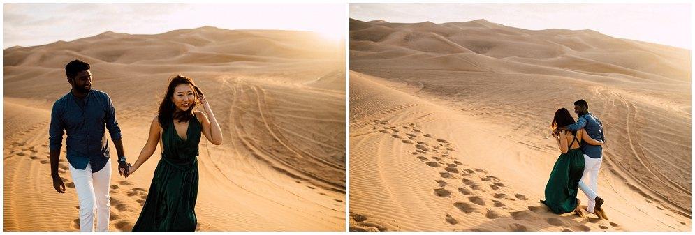 Dubai desert photoshoot