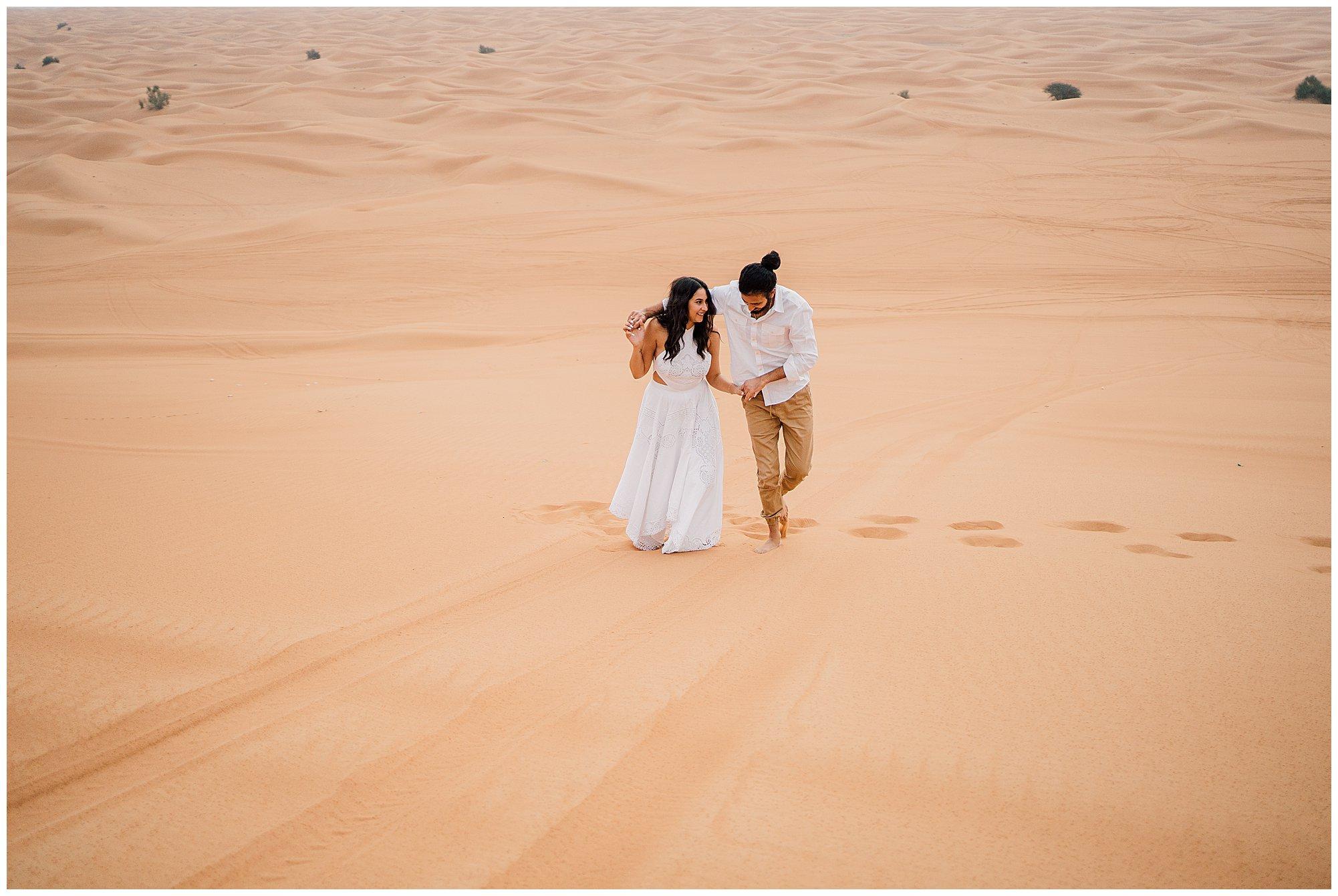 dubai desert engagement